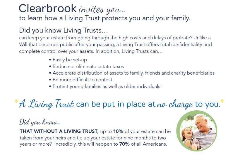Living Trust Presentation @ Clearbrook Plaza   Arlington Heights   Illinois   United States